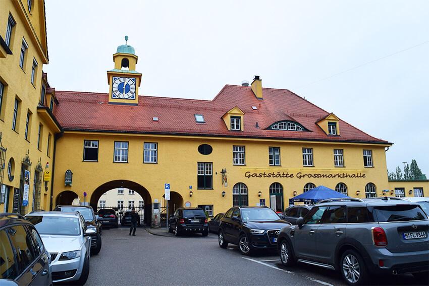 Gaststätte Großmarkthalle外観