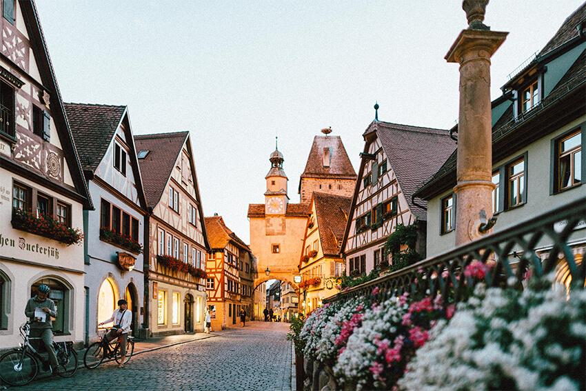 ドイツメルヘンな風景