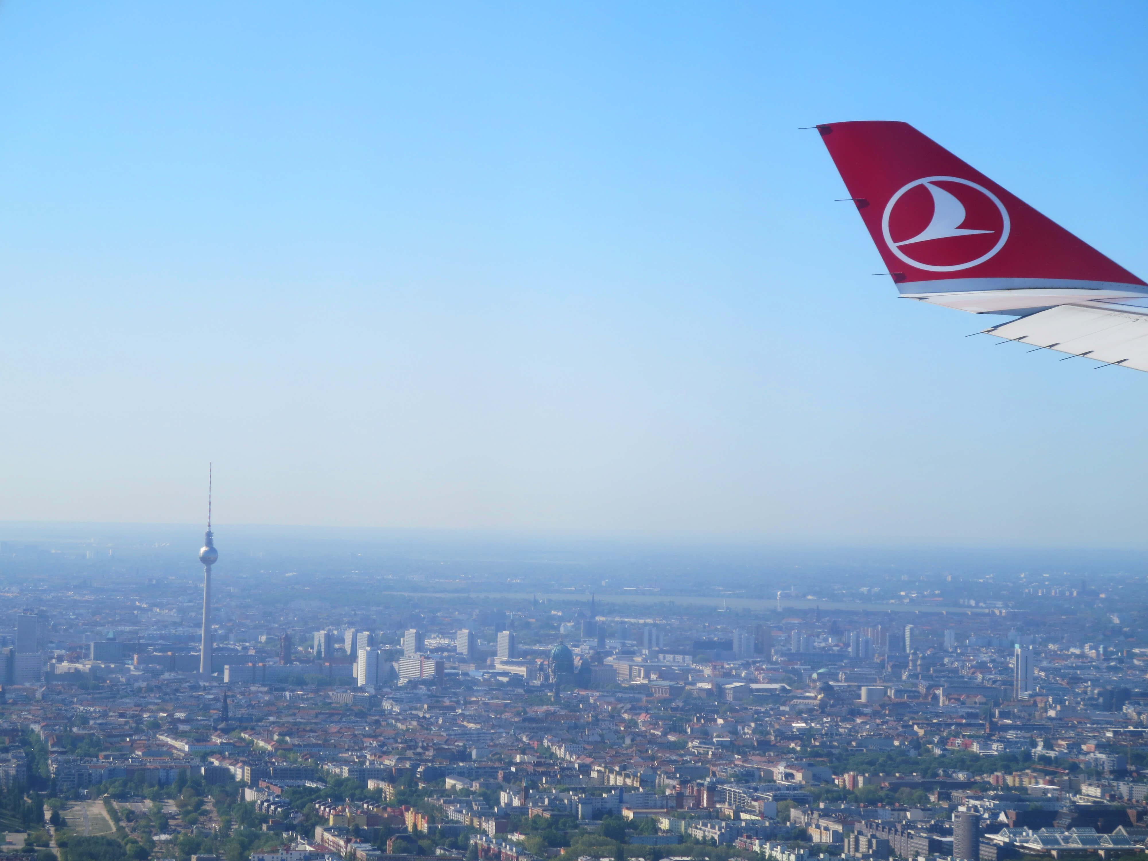 ベルリンの上空テレビ塔