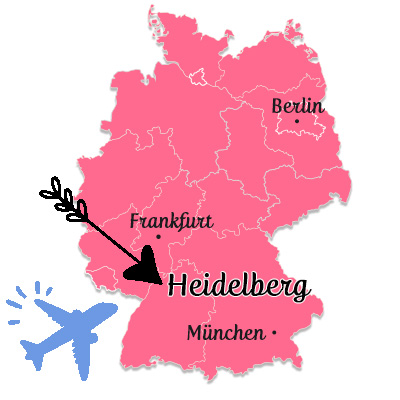 ハイデルベルク地図