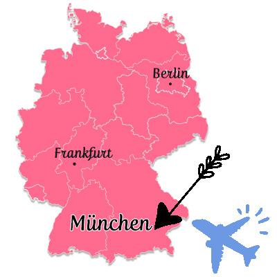 ミュンヘン地図