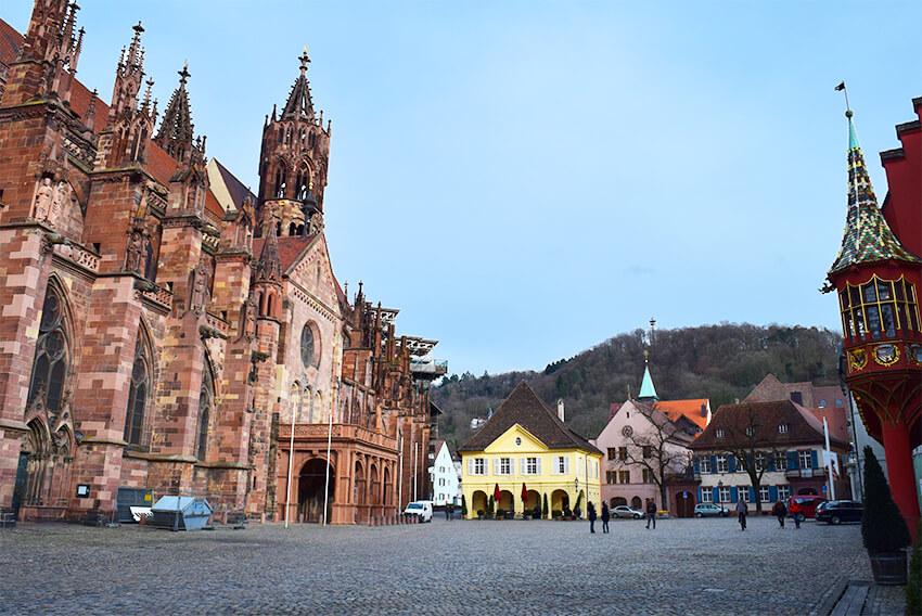 Freiburg-munsterplatz