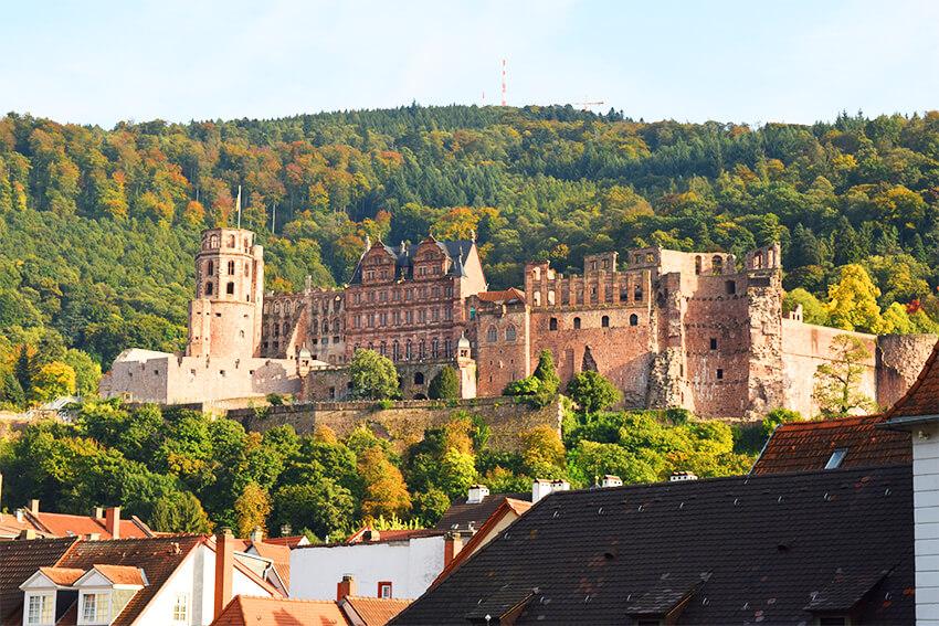 Heidelberg-castel