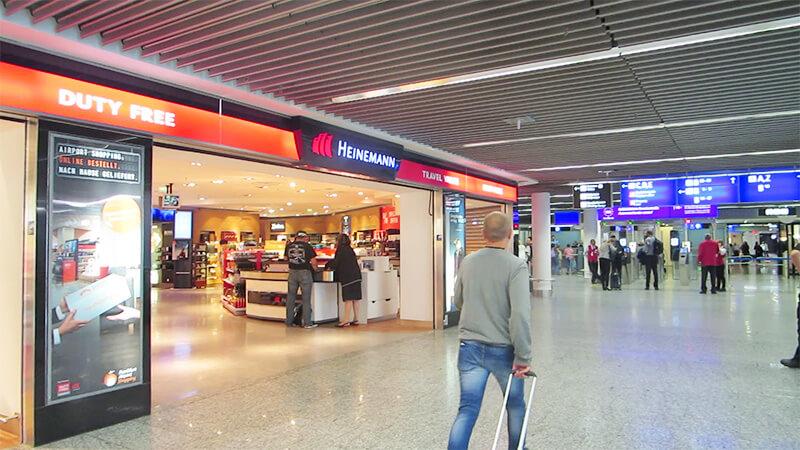 フランクフルト空港乗り継ぎの免税店
