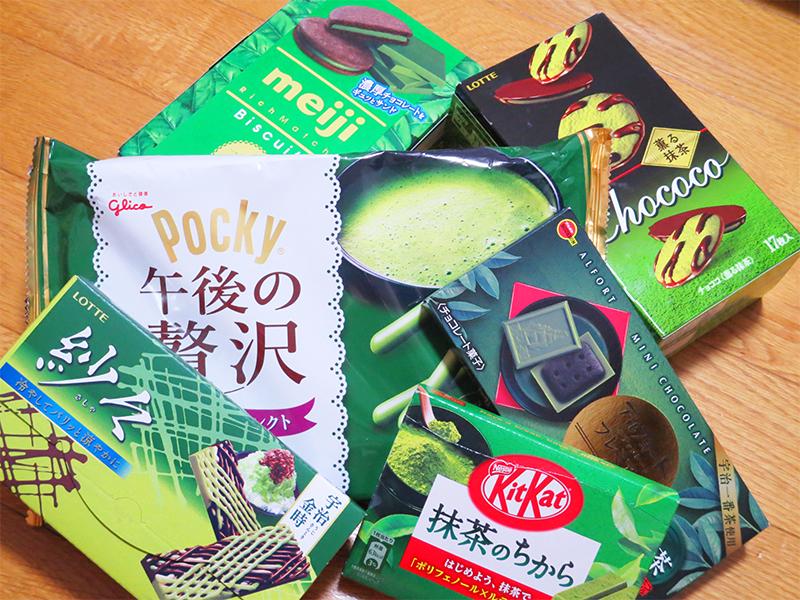 スーパーで買える抹茶味のお菓子